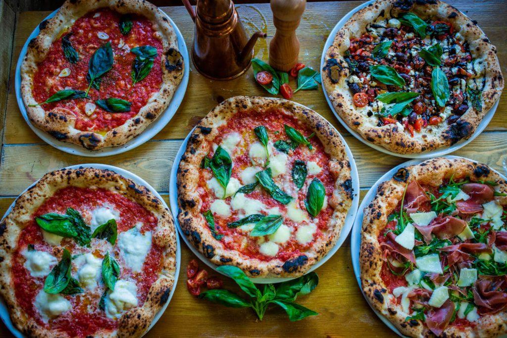Neapolitan Pizza Selection